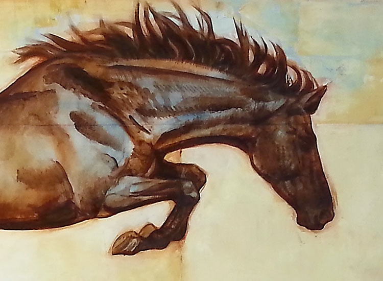 """S. C.Versillee - """"Horse Over Crow"""""""