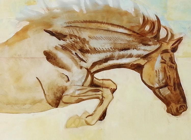 """S. C. Versillee """"Horse Over Crow"""""""