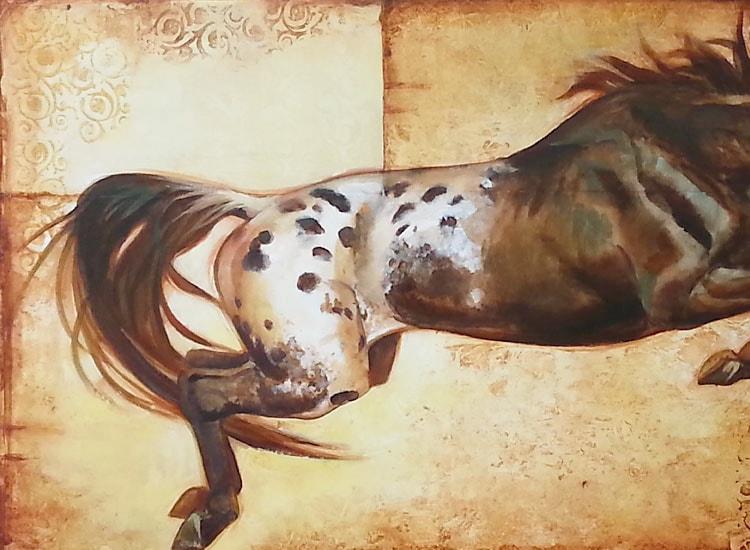 """S. C. Versillee - """"Horse Over Crow"""""""