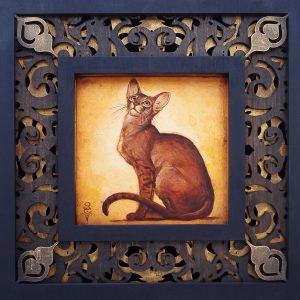 """Abyssinian"" – Limited Edition Original Artwork"