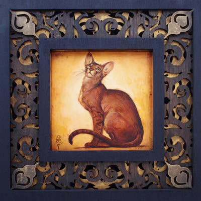 Abyssinian - Limited Edition Artwork by S. C. Versillee