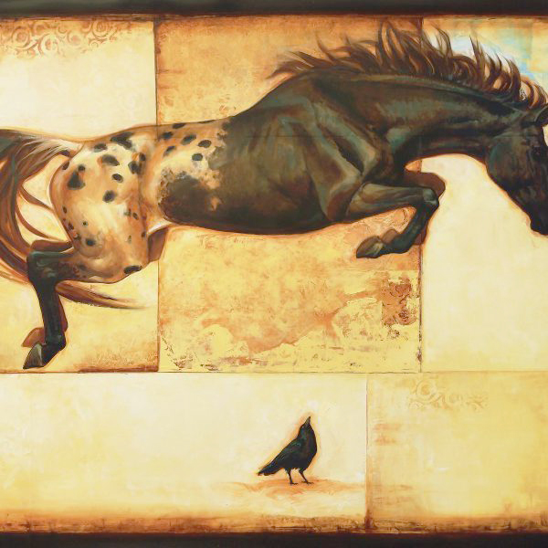 Horse Over Crow