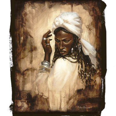 Fulani Derived – Open Edition Giclée Print