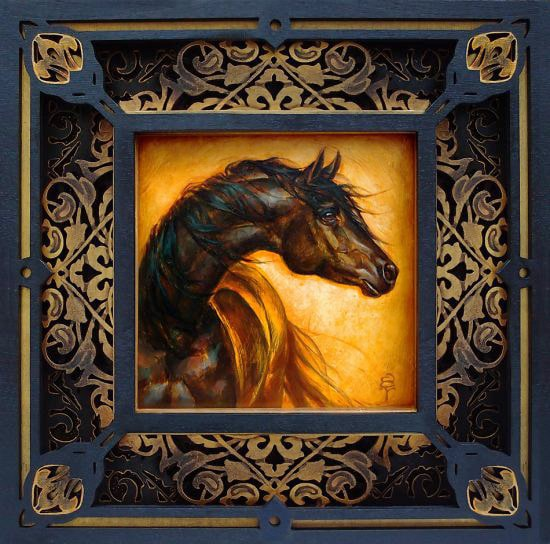 Al Aswad - Limited Edition Artwork by S. C. Versillee