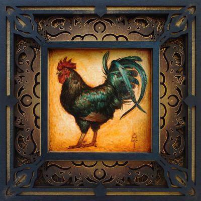 """""""Bantam"""" – Limited Edition Original Artwork"""