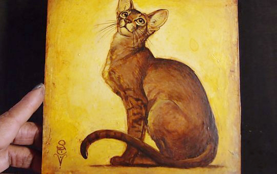 WIP: Abyssinian (Limited Edition Original Artwork)
