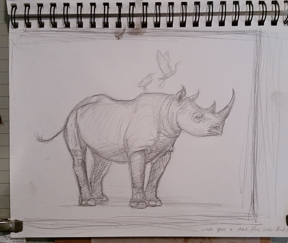 Once, There Were Black Rhinos