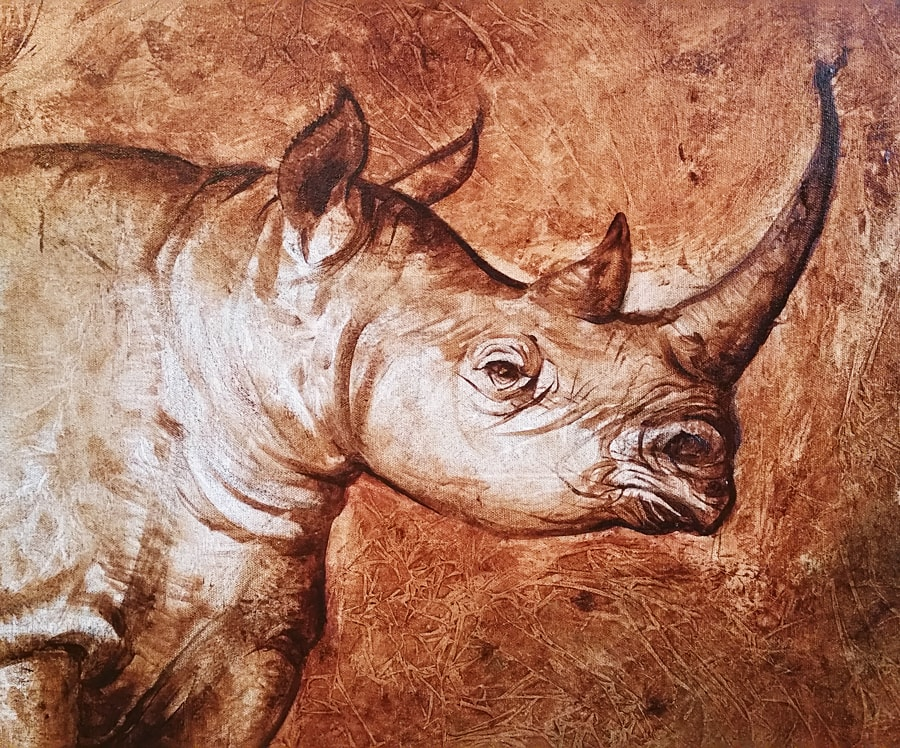 WIP - Once, There Were Black Rhinos