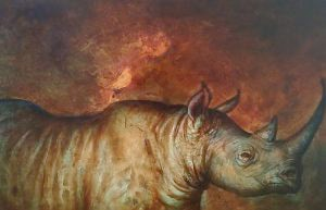 WIP: Once There Were Black Rhinos – Finishing Up