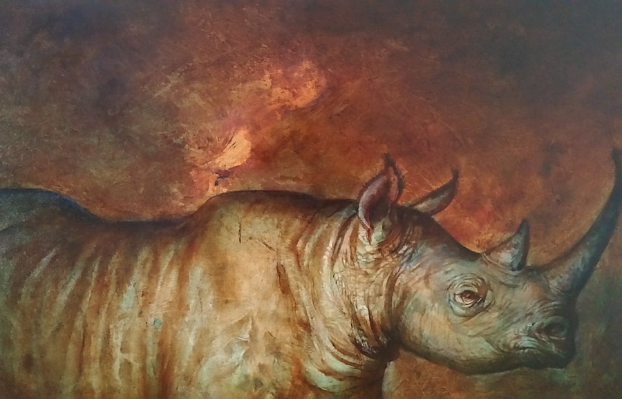 WIP - Once There Were Black Rhinos